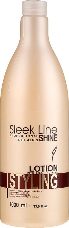 Styling Silk Hair Lotion - Stapiz Sleek Line Styling Lotion