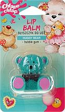 "Fragrances, Perfumes, Cosmetics Gloss Lip Balm ""Teddy Bear"", with Bubble Gum Scent - Chlapu Chlap Lip Balm"