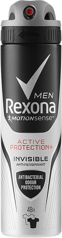 Deodorant-Spray for Black and White - Rexona Men Active Protection+ 48H Anti-Perspirant Spray