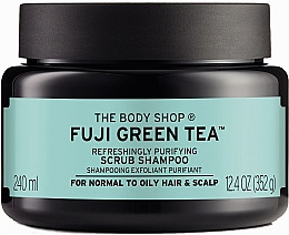 Fragrances, Perfumes, Cosmetics Green Tea Cleansing Hair & Scalp Scrub - The Body Shop Fuji Green Tea Cleansing Hair Scrub