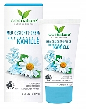 Fragrances, Perfumes, Cosmetics Face Cream - Cosnature MED Face Cream Brine & Chamomille