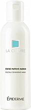 Fragrances, Perfumes, Cosmetics Cleansing Face Lotion - La Chevre Epiderme Facial Cleansing Milk