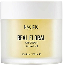 Fragrances, Perfumes, Cosmetics Calendula Face Cream - Nacific Real Floral Calendula Air Cream