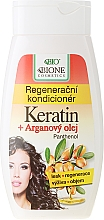Fragrances, Perfumes, Cosmetics Repair Hair Conditioner - Bione Cosmetics Keratin + Argan Oil Regenerative Conditioner With Panthenol