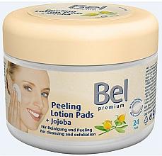 Fragrances, Perfumes, Cosmetics Wet Cosmetic Pads with Jojoba - Bel Premium Peeling Lotion Jojoba Pads