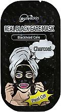 Fragrances, Perfumes, Cosmetics Charcoal Peel-Off Mask - Purenskin Peel Off Real Black Care Mask