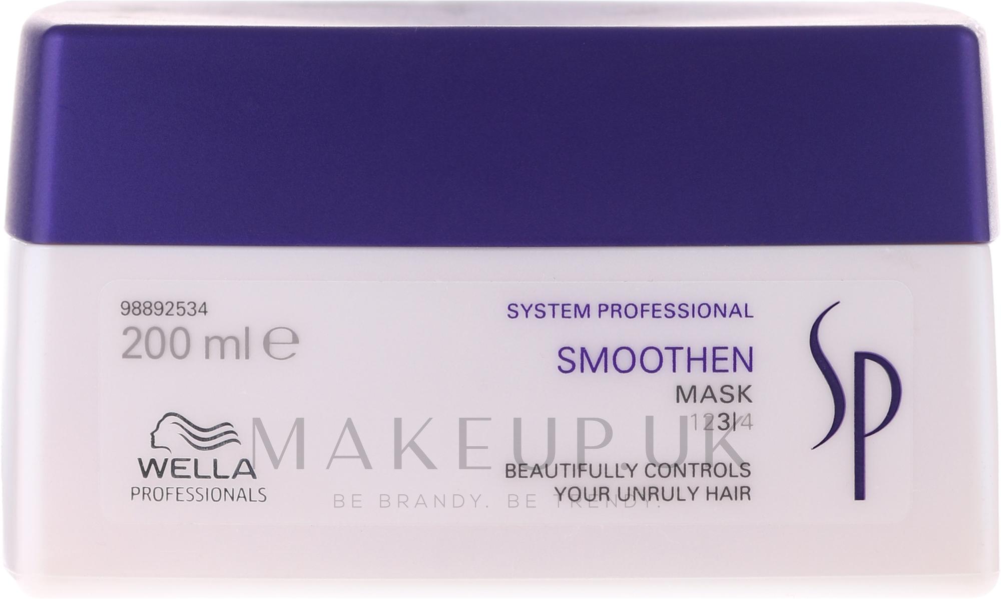 Smoothing Hair Mask - Wella SP Smoothen Mask — photo 200 ml