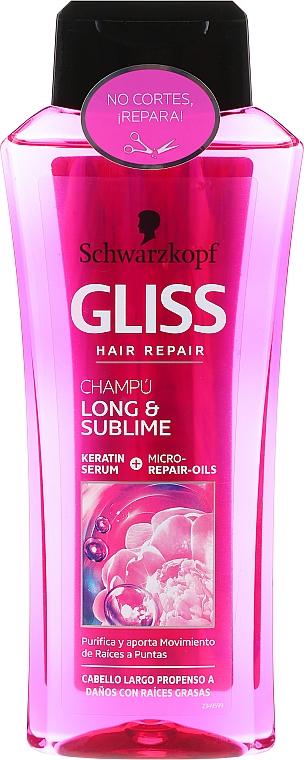 Shampoo - Schwarzkopf Gliss Kur Long & Sublime Shampoo