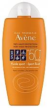 Fragrances, Perfumes, Cosmetics Sun Fluid - Avene Solaire Fluide Sport SPF 50+