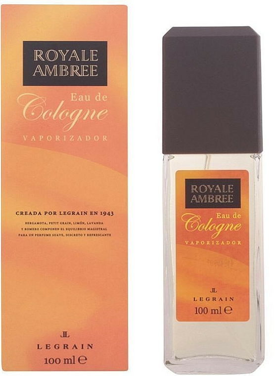 Legrain Royale Ambree - Eau de Cologne-Spray