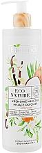 Fragrances, Perfumes, Cosmetics Creamy Body Wash Milk - Bielenda Eco Nature Creamy Body Wash Milk Vanilla Coconut Milk Orange Blossom
