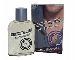 Fragrances, Perfumes, Cosmetics After Shave Lotion - Genius Platinium After Shave