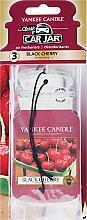 Fragrances, Perfumes, Cosmetics Car Air Freshener - Yankee Candle Car Jar Classic Black Cherry