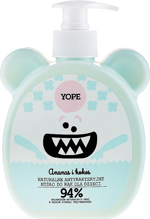 "Kids Antibacterial Soap ""Pineapple and Coconut"" - Yope"