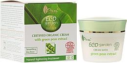 Fragrances, Perfumes, Cosmetics Green Peas Organic Cream 50+ - Ava Laboratorium Eco Garden Certified Organic Cream With Green Peas