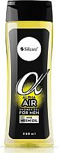 Fragrances, Perfumes, Cosmetics Shower Gel - Silcare Alpha Air Men