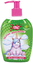 """Fragrances, Perfumes, Cosmetics Kids Shower Gel """"Rainbow Unicorn"""", grape punch - Chlapu Chlap Bath & Shower Gel"""