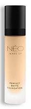Fragrances, Perfumes, Cosmetics Matte Foundation - NEO Make Up Perfect Matte Foundation