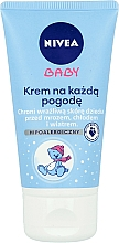 Fragrances, Perfumes, Cosmetics Hypoallergenic Cream for Face and Body - Nivea Baby Cream For Any Weather Hypoallergenic