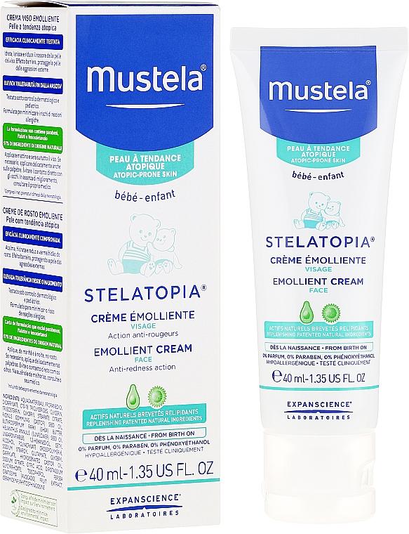 Smoothing Face Cream - Mustela Bebe Stelatopia Emollient Cream