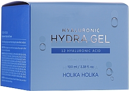 Hyaluronic Acid Facial Cream Gel - Holika Holika Hyaluronic Hydra Gel — photo N2