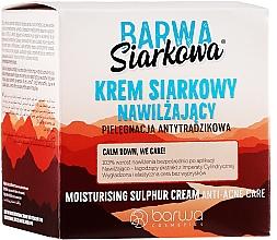 Deep Moisturizing Sulfur Cream - Barwa Sulphuric Cream Prolonged Moisturising — photo N1