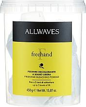 "Fragrances, Perfumes, Cosmetics Bleaching Hair Powder ""Free-Hand"" - Allwaves Freehand Bleaching Powder"