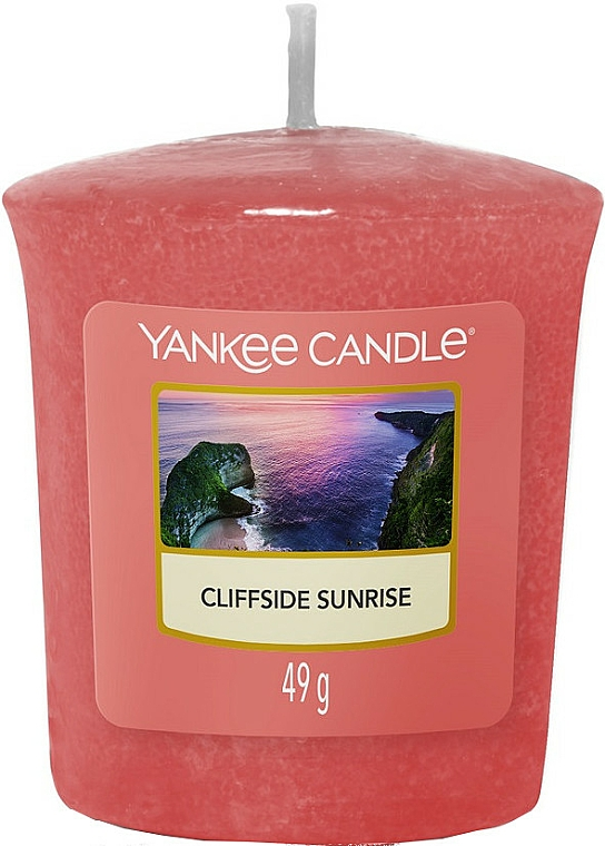 Scented Candle - Yankee Candle Votive Cliffside Sunrise — photo N1