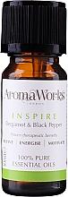 Fragrances, Perfumes, Cosmetics Essential Oil Blend - AromaWorks Inspire Essential Oil