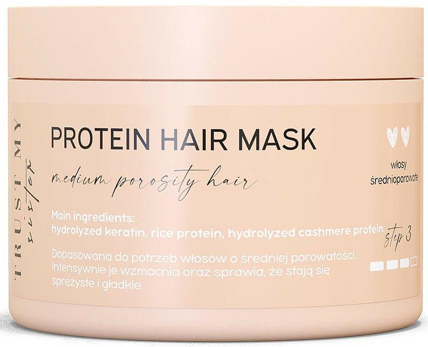 Protein Mask for Medium Porosity Hair - Trust My Sister Medium Porosity Hair Protein Mask — photo N1