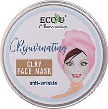 Fragrances, Perfumes, Cosmetics Anti-Wrinkle Facial Clay Mask - Eco U Anti-Wrinkle Clay Face Mask