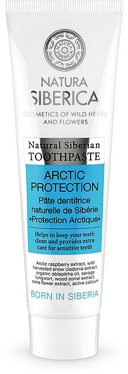 """Toothpaste """"Arctic Protection"""" - Natura Siberica"""