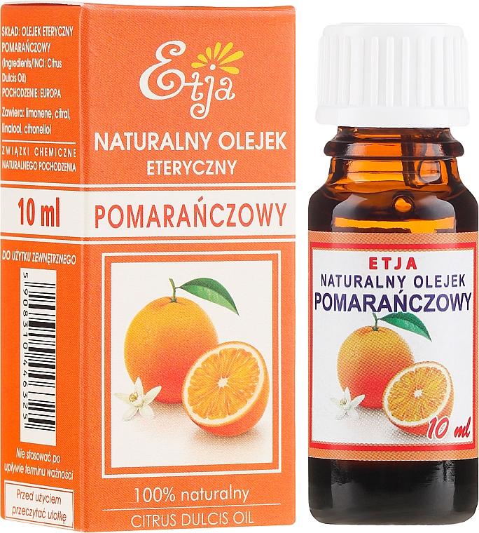 Natural Essential Orange Oil - Etja Natural Citrus Dulcis Oil