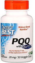 Fragrances, Perfumes, Cosmetics PQQ with BioPQQ, 20mg, capsules - Doctor's Best
