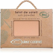 Fragrances, Perfumes, Cosmetics Light-Reflecting Compact Powder - Couleur Caramel Sun Powder
