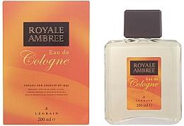Fragrances, Perfumes, Cosmetics Legrain Royale Ambree - Eau de Cologne