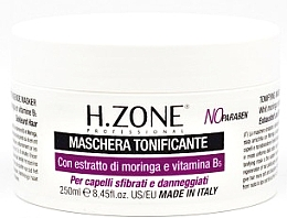 Fragrances, Perfumes, Cosmetics Tone-Up Mask for Damaged Hair - H.Zone Masque Tofiant