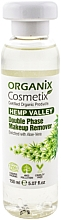 Fragrances, Perfumes, Cosmetics Biphase Makeup Remover - Organix Cosmetix Hemp Valley Double Phase Makeup Remover