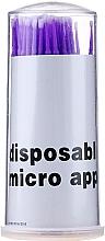 Fragrances, Perfumes, Cosmetics Lash Micro Brushes, purple - Novalia Group