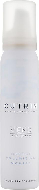 Fragrance-Free Volume Mousse - Cutrin Vieno Sensitive Volumizing Mousse — photo N1