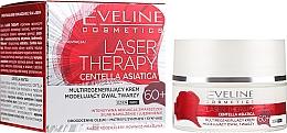 Fragrances, Perfumes, Cosmetics Face Cream 60+ - Eveline Cosmetics Laser Therapy Centella Asiatica 60+