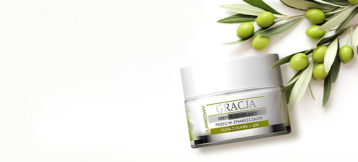 Get a free Anti-Wrinkle Cream when buying Gracja products for the amount of £7 or more
