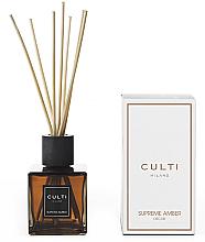 Fragrances, Perfumes, Cosmetics Reed Diffuser - Culti Milano Supreme Amber