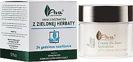 "Fragrances, Perfumes, Cosmetics Green Tea Extract Cream ""24 Hours of Moisturizing"" - Ava Laboratorium Green Tea Intensively Moisturizing Cream"