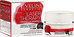 Fragrances, Perfumes, Cosmetics Face Cream 70+ - Eveline Cosmetics Laser Therapy Centella Asiatica 70+