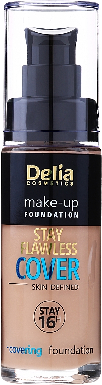 Foundation - Delia Cosmetics Stay Flawless Cover