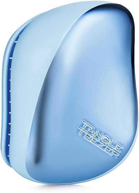 Compact Hair Brush - Tangle Teezer Compact Styler Sky Blue Delight Chrome