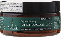 Fragrances, Perfumes, Cosmetics Face Mask - Sukin Super Greens Detoxifying Clay Masque