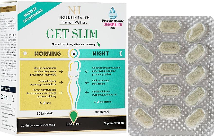 Slimming Complex, 90 pcs - Noble Health Get Slim Morning & Night