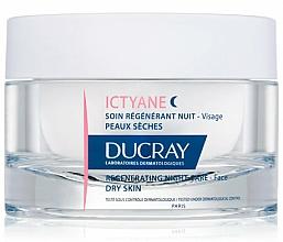 Fragrances, Perfumes, Cosmetics Regenerating Facial Night Cream - Ducray Ictyane Regenerating Night Care